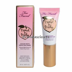 Too Faced Primed & Peachy Cooling Matte Primer NIB